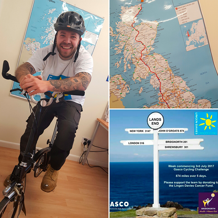Charity Cycling Challenge